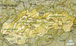 Карта Словакии