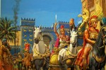 Александр входит в Вавилон