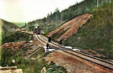 Строительство железных дорог. Уральская горнозаводская дорога